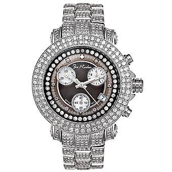 Joe Rodeo diamond men's watch - RIO silver 10 ctw