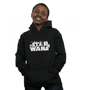 Star Wars niños minimalista Logo Hoodie