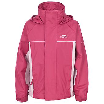 Trespass Girls Sooki Waterproof Windproof Hooded Jacket