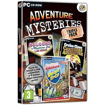Adventure Mysteries Triple Pack (PC CD) - New