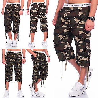 Men US Army Cargo Shorts camouflage Tarn pant robust Bermuda Military summer