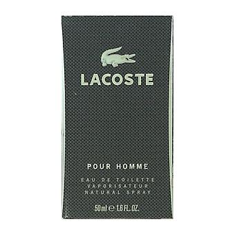 Lacoste Pour Homme Eau De Toilette Spray 1.7 Oz/50 ml neuf en boîte