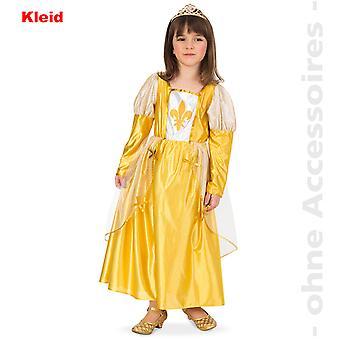 Burgfraulein Kostüm Kinder Königin Burgherrin Edeldame Maid Kinderkostüm