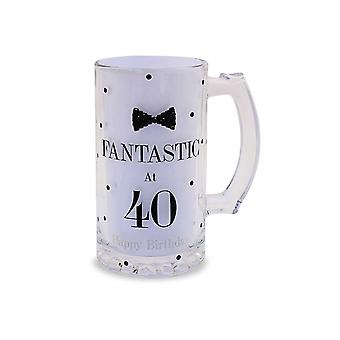 Lesser Pavey Mad Dots Birthday Beer Tankard