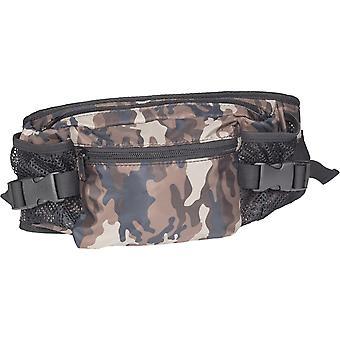Urban classics - NYLON hip bag waist belt bag camo