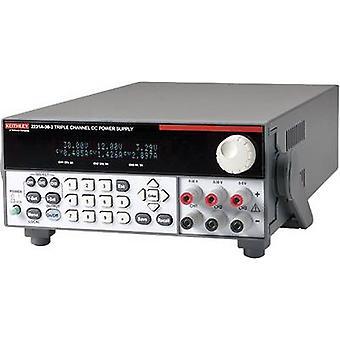 Keithley 2231A-30-3 הספסל PSU (מתח מתכוונן) 0-30 V 0-3 A 195 W No. של תפוקות 3 x
