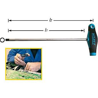 Hazet Workshop Allen wrench Spanner size: 2.5 mm Blade length: 100 mm