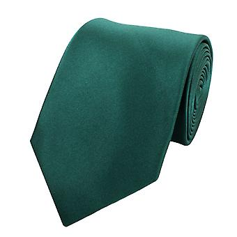 Cravatta cravatta cravatta cravatta 8cm verde abete verde della uni Fabio Farini