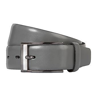 BERND GÖTZ belts men's belts leather belt can be shortened for leather grey 2132