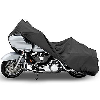 Motorcycle Bike Cover Travel Dust Storage Cover Compatible with Harley Road King Classic Custom