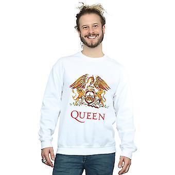 Königin Männer Crest Logo Sweatshirt