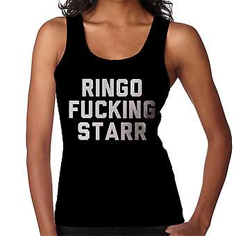 Ringo Starr naisten liivi vitun