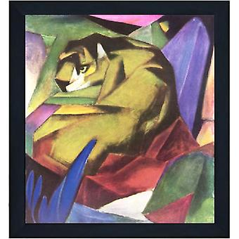 Med ram The Tiger,Franz Marc,60x50cm
