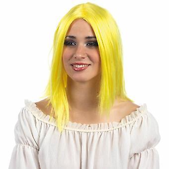Hippie parykk rocker Flowerpower hippie 60s Lady wig parykk
