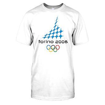 Torino 06-Italia talviolympialaiset Miesten T-paita
