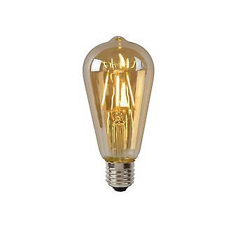 Lucide lampe LED ST64 à incandescence E27/5W 400LM 2700 K ambre