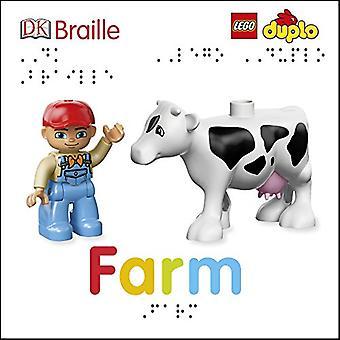 DK Braille LEGO DUPLO boerderij (DK Braille) [Board boek]