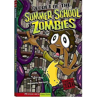 Segredo de zumbis a escola de Verão (gráficos faíscas)