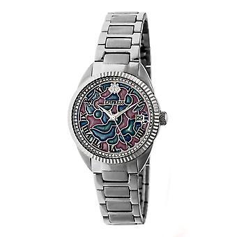 Kaiserin Helena Bracelet Watch w/Datum - Silber