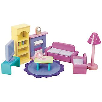 Le Toy Van Doll House Sugar Plum Sitting Room