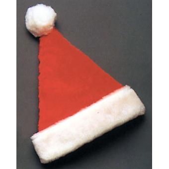 Santa Hat Deluxe Plys For alle