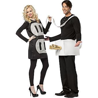 Plug and Socket Couple Costumes