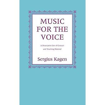 Musik för röst av Kagen & Sergius