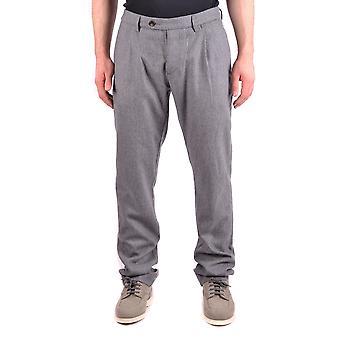 Jacob Cohen Ezbc054147 Hombres's Pantalones de Lana Gris