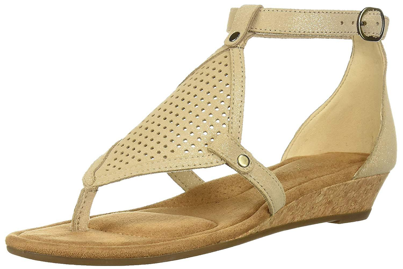 Koolaburra door UGG Womens Briona Split teen Casual T-Strap sandalen NNNTy0