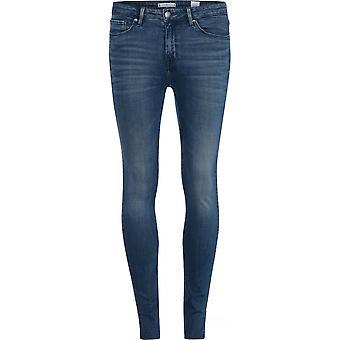 Tommy Hilfiger Tommy Hilfiger Womens Como Denim Raw Skinny Jeans