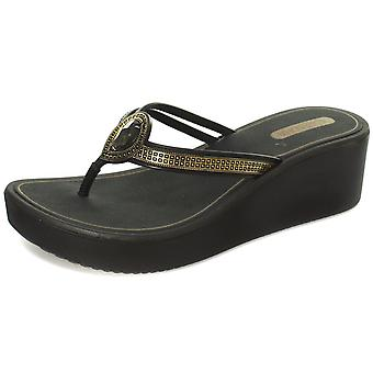 Grendha Brasil Jewel Wedge Womens Wedge Sandals  AND COLOURS