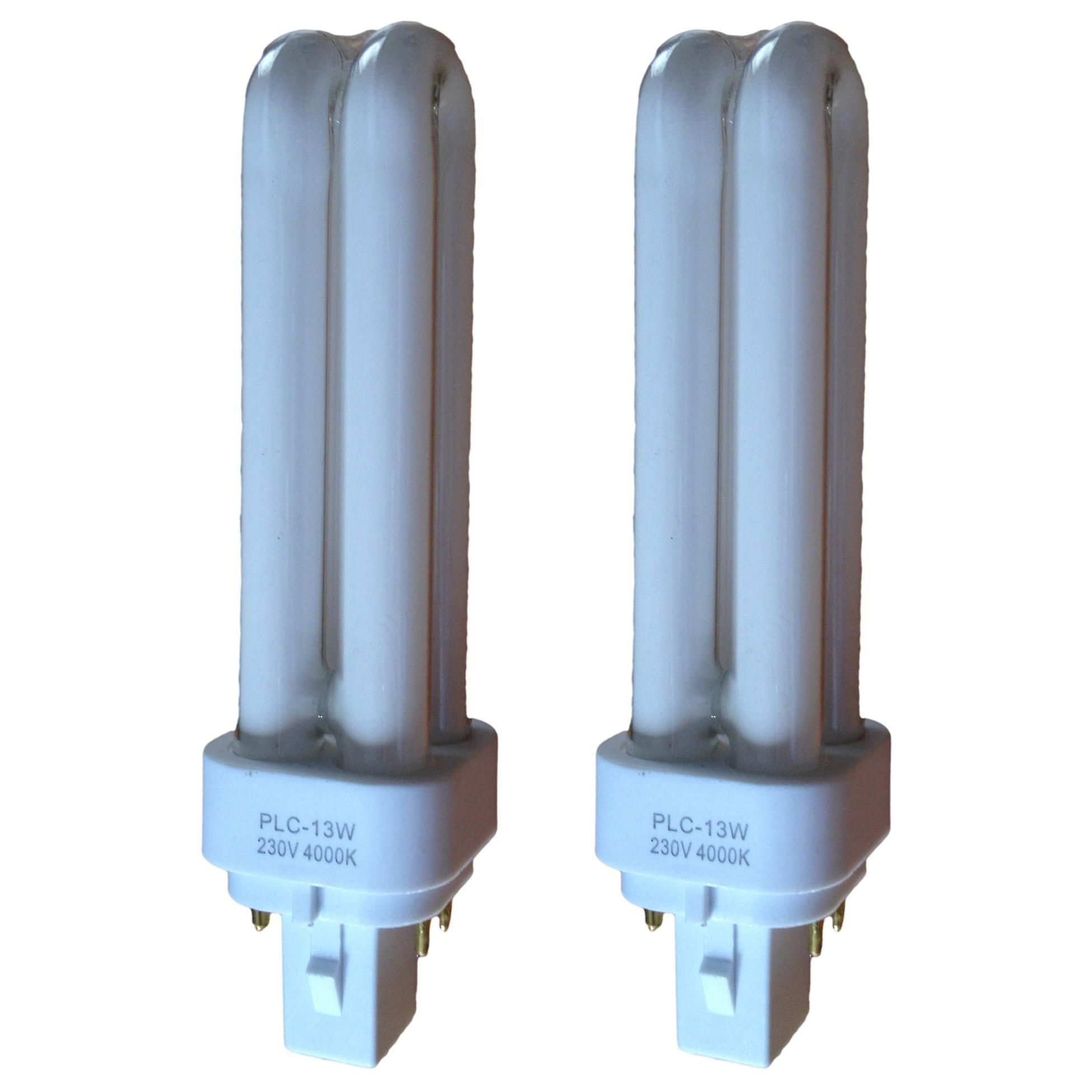 Energy Saving PLC Birne - 4-Pin-CFL - 13/18w Farbe 4000k - 2 oder 5 Pack-Optionen