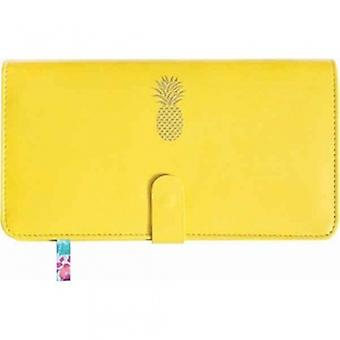 Sky And Miller Yellow Travel Wallet