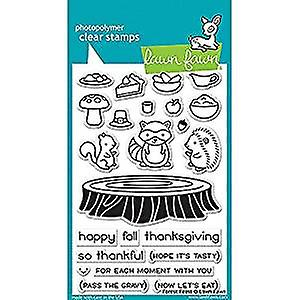 LAWN FAWN Clear Stamps 4X6 Forest Feast LF1464