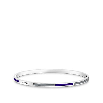 Colorado Rockies Bracelet In Sterling Silver Design by BIXLER