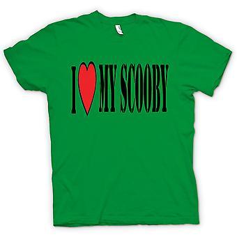 Kids T-Shirt - Ich liebe meine Scooby Subaru - Auto