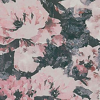 Camille kukka Velvet kangas