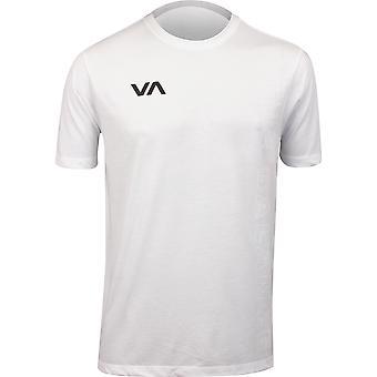 RVCA VA Sport Mens Pin Down T-Shirt - White