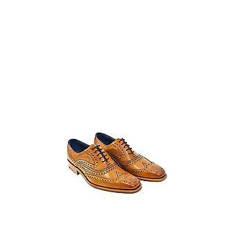 Barker Paisley laser suunnittelu kenkä Cedar vasikka