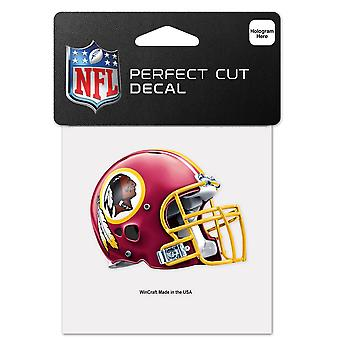 Wincraft Casco Pegatina 10x10cm - NFL Washington Redskins