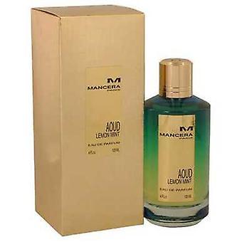 Mancera Aoud Lemon Mint By Mancera Eau De Parfum Spray (unisex) 4 Oz (women) V728-540131