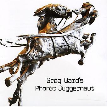 Greg Ward - Greg Waard's Phonic Juggernaut [CD] USA import