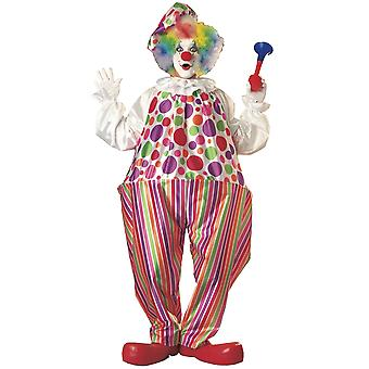Snazzy Clown Circus Birthday Party Funny Book Week Adult Mens Costume