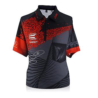 Phil Taylor van de macht ondertekend 2018 Darten Shirt