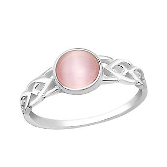 Round - 925 Sterling Silver Jewelled Rings - W36876x