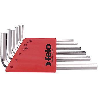 Felo Allen Keys Short Game 6 pieces nickel plated (DIY , Tools , Handtools)