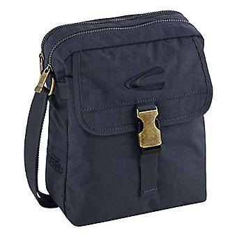 camel active Journey - Shoulder bag 26 cm Dark Blue (Blue) - B00 914 58