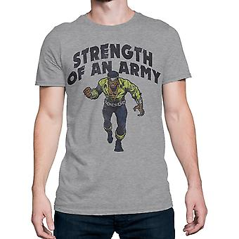 Luke Cage Siła Armii Men's T-Shirt