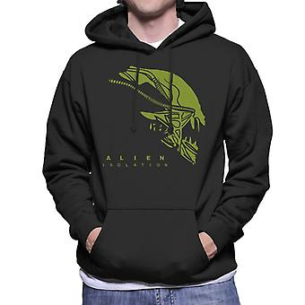 Alien Isolation Xenomorph Head Men's Hooded Sweatshirt