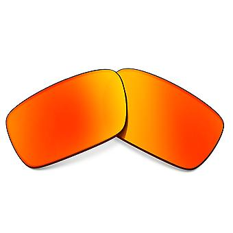 Replacement Lenses for Oakley Crankshaft Sunglasses Red Mirror Anti-Scratch Anti-Glare UV400 by SeekOptics